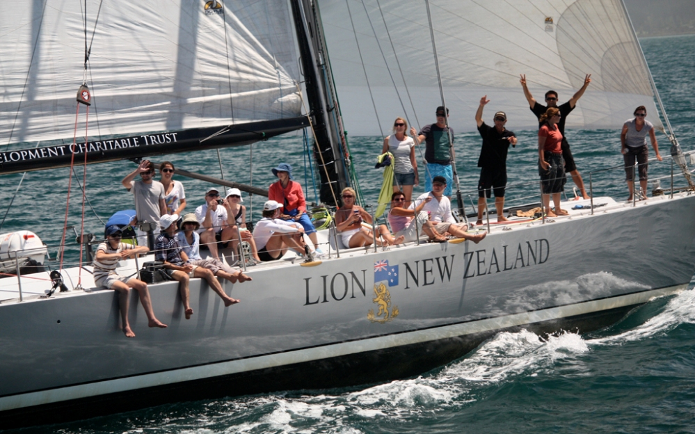 Lion New Zealand Charter Boat 80ft Maxi Yacht Decked