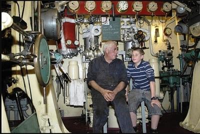 William C Daldy Charter Boat 38m Vintage Steam Tug